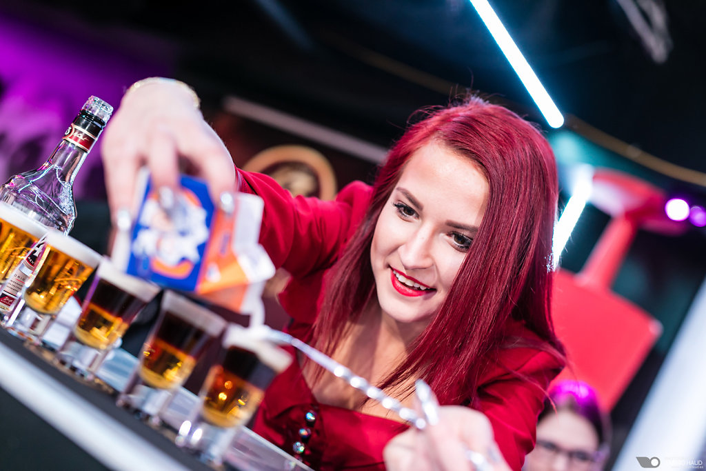 Licor43 shot competition '17