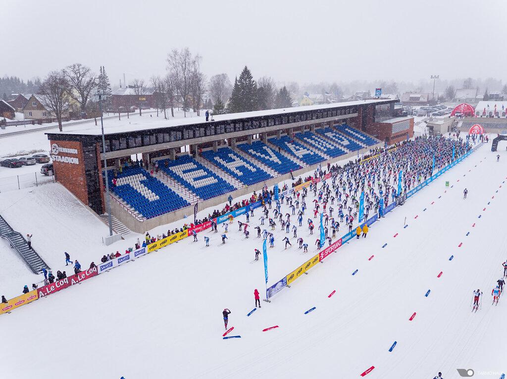 Start of Tartu Marathon